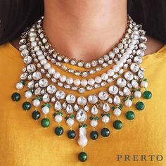 Grandeur. Every single day  #AbiaNecklace // Shop this necklace at www.prerto.com {or swipe up through our insta stories and shop this directly}