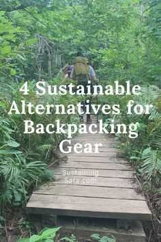 See some backpacking gear that beat out single-use alternatives!