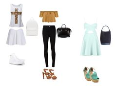 """""""tenue de ville"""" by manon-smack ❤ liked on Polyvore featuring Converse, Tejido, AG Adriano Goldschmied, Steve Madden, Givenchy, PB 0110 and Burberry"""