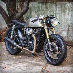 CX500 Cafe Racer - great commuterbike .