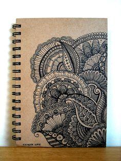 Luxury Journal Sketchbook Notebook Hand por BeautifulWishes en Etsy