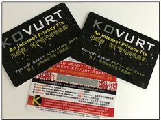 Kovurt VPN Discount Scratch Cards. These expire on June 10, so use yours soon!