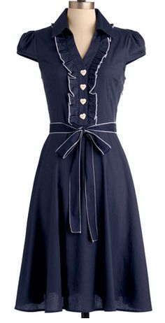 Darling dress in navy http://rstyle.me/n/br4bfnyg6