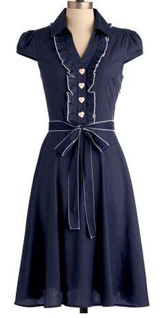 Darling dress in navy http://rstyle.me/n/br4bfnyg6