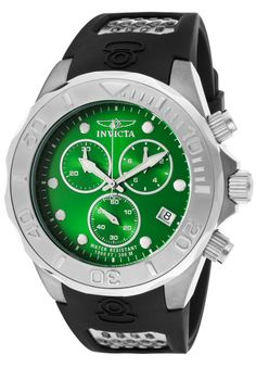 Price:$159.00 #watches Invicta 11462, With a bold, masculine design, Invicta chronograph has a poised and calm ambience that's sure to have you looking twice.