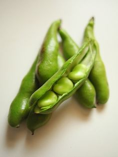 In season - May, broad beans