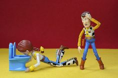 Woody's Secret Life Outside of the Toy Box by Rafael Móyer