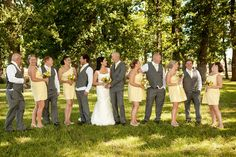 Wedding party By Tessa Burrows Photography