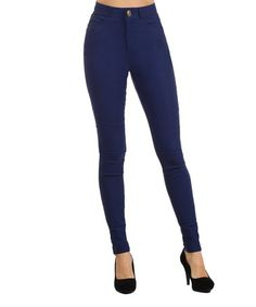 Look what I found on #zulily! Royal Blue Jeggings by BellaBerry USA #zulilyfinds