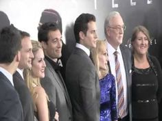 """Super-fun was had by Allison Crowe - invited by """"Man of Steel"""" director Zack Snyder and producer Deborah Snyder to New York City in June for the premiere of their epic science-fiction adventure movie. Newly-posted video of Lincoln Centre red carpet chaos captures arrivals: Rebecca Buller (Jenny Olsen), Cooper Timberline (young Clark Kent), Allison (about one minute in), Daniel Dae Kim (Hawaii Five-O), Zack and Deborah Snyder, Superman himself, Henry Cavill, w. family, Bill Nye """"The Science…"""
