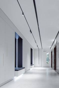 Preventing Maintenance Issues When Managing a Commercial Property, – Best Office Architecture Office Lighting, Interior Lighting, Track Lighting, Linear Lighting, Lighting Design, Office Ceiling, Corridor Design, Lobby Reception, Ceiling Light Design