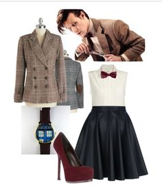 The eleventh Doctor. My perfect idea of a comic-con outfit! #DoctorWho
