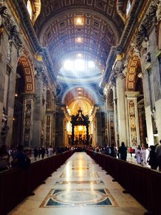 St. Peter's Basilica Basilica in Vatican City, Rome, Italy - St....