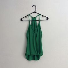 Lily White Green Tank Beautiful green tank top! Never been worn. New with tags :)no trades no low balling ✅offers accepted Lily White Tops Tank Tops