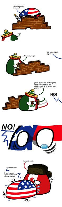 America just tryin' to live life why you gotta do this Mexico?