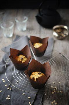 Muffins banane flocons d'avoine