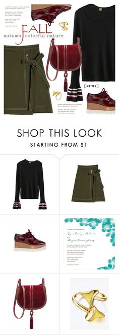 """Fall Fashion:Street Style"" by metisu-fashion ❤ liked on Polyvore featuring STELLA McCARTNEY, Steven by Steve Madden, polyvoreeditorial, polyvoreset and metisu"
