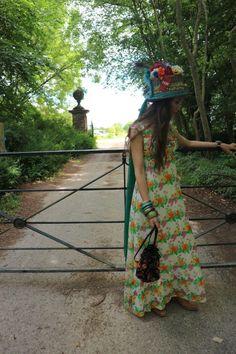 Flow Design, Festival Fashion, Hemline, Florals, Etsy Shop, Vintage, Color, Dresses, Colour