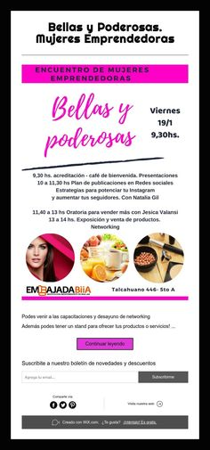 Instagram, Public Speaking, Innovative Products, Social Networks, Buenos Aires, Women