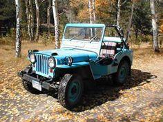 rebuilt 1952 Willys M38