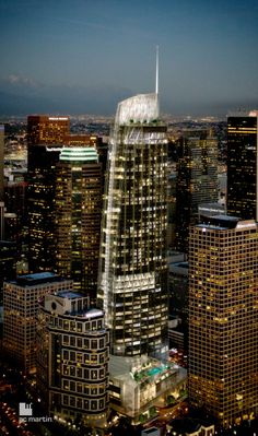 Wilshire Grand Tower in LA almost finished