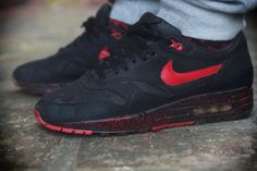 discount sale 9641a dbde9 Nike Air Max 1 Custom (by Timek Eiertyp) Nike Casual Shoes, Running Shoes
