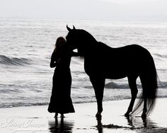 A Girl and Her Horse Fine Art Horse Photograph by WildHoofbeats, $35.00