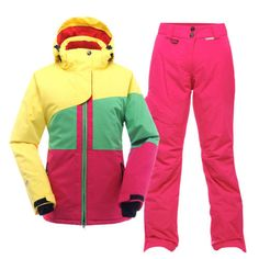 Womens #winter #cotton padded skiing #jacket pants ski suit snowboard coat bibs s,  View more on the LINK: http://www.zeppy.io/product/gb/2/391347466168/