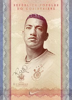 Nike - Corinthians Popular Republic - Posters by Andre Maciel, via Behance