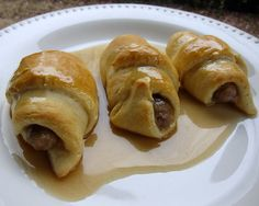 Sausage Roll Ups with Buttermilk Syrup
