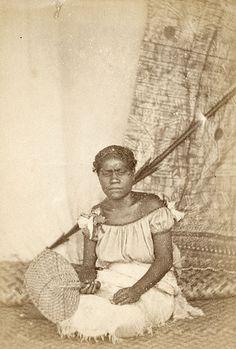 Photograph of Adi Apinetta, daughter of Ratu Thakombau (Cakobau).