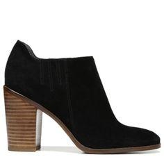 Sarto by Franco Sarto Women's Frannie Ankle Boot Black Suede