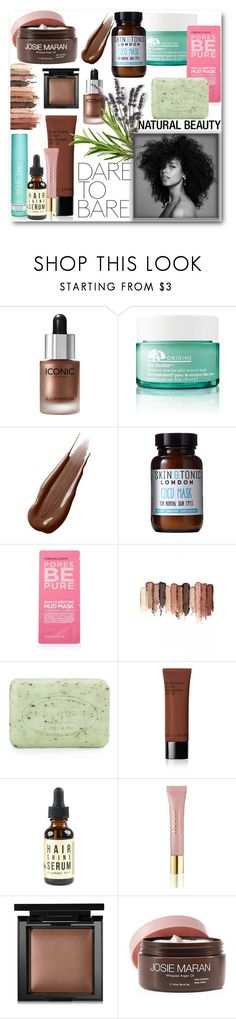"""""""Dare to Bare"""" by looking-for-a-place-to-happen ❤ liked on Polyvore featuring beauty, Origins, Hourglass Cosmetics, Skin & Tonic, Topshop, tarte, Pré de Provence, Bobbi Brown Cosmetics, AERIN and Bare Escentuals"""