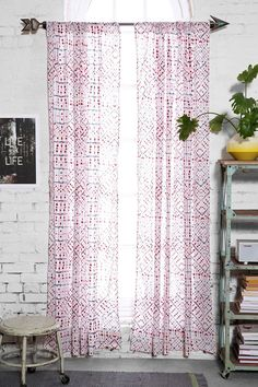 Magical Thinking Printed Toma Curtain - Urban Outfitters (NOTE: for AM bedroom in future?)