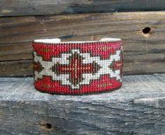 Southwestern Beaded Cuff Bracelet 2408