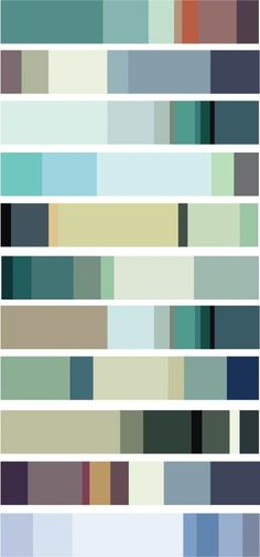 Seafoam Green Color Schemes