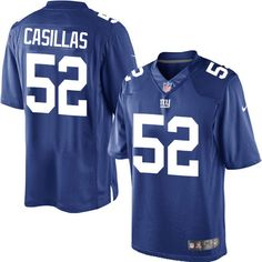 Youth Nike New York Giants #52 Jonathan Casillas Limited Royal Blue Team Color NFL Jersey
