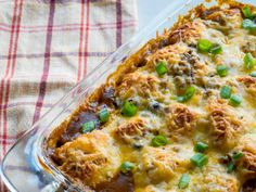 Bubble Up Enchilada Bake – 12 Tomatoes Easy Enchilada Casserole, Enchilada Bake, Casserole Dishes, Bubble Up Enchiladas, Pretzel Dough, Chili Cheese Dogs, Best Casseroles, Mexican Food Recipes, Ethnic Recipes