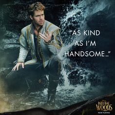"""""""...And heir to a throne?"""" #IntoTheWoods"""