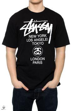 Koszulka Stussy World Tour