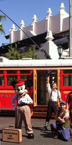 Mickey Mouse at Disney California Adventure