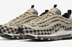 outlet store cc22a 73441 The Nike Air Max 97 Premium Tartan (Gingham) is introduced and it s dropping  at Nike stores very soon.