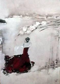 Solfrid M Skarseth, Acrylic on canvas on ArtStack Canvas, Acrylic, Abstract Artwork, Acrylic Canvas, Art, Abstract