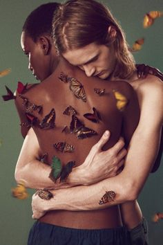 Posted at fashionbombdaily.com. Edun's Spring 2012 advertisement campaign shot by Ryan McGinley