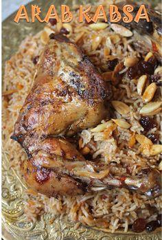 YUMMY TUMMY: Al Kabsa Recipe - Saudi Kabsa Recipe - Arabic Rice & Chicken Recipe