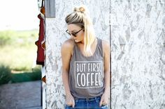 but first COFFEE tank
