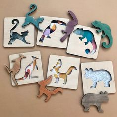 Stencils For Kids, Puzzle Drawing, Chalkboard Doodles, Gravure Laser, Laser Cutter Projects, Montessori Toys, Puzzles For Kids, Wooden Puzzles, Wood Toys