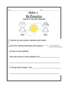 7 habits of happy kids skits 4 6 lesson plan ideas worksheet scenarios great resource. Black Bedroom Furniture Sets. Home Design Ideas