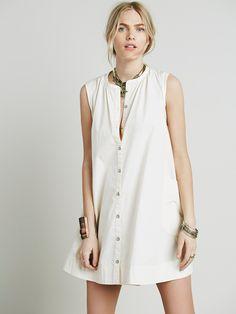 Free People Road Shirt Dress, $108.00