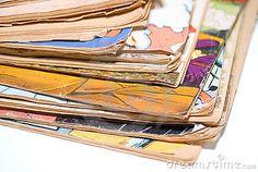 70ec86e48e0 A stack of old comics and children s books very tattered and used. Old  Children s Books